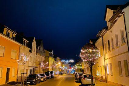 Weihnachtsbeleuchtung Bopparder Straße 2